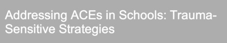 Webinar 1/22 (10:30am-Noon): Addressing Adverse Childhood Experiences in Schools: Trauma-Sensitive Strategies | Santa Clara County Events and Resources to Support Youth Development | Scoop.it