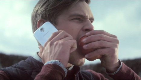 Video: Samsung takes a bite out of Apple in bizarre new commercial | Buss 4 Section B | Scoop.it