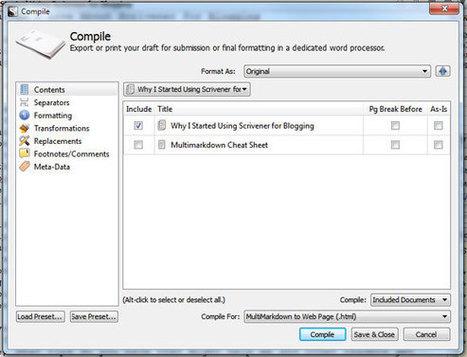 Scrivener for Blogging: Become a More Organized Blogger   Scrivener   Scoop.it