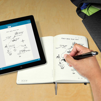 Moleskine Livescribe Notebooks transfer ideas from paper to screen   visual communication   Scoop.it