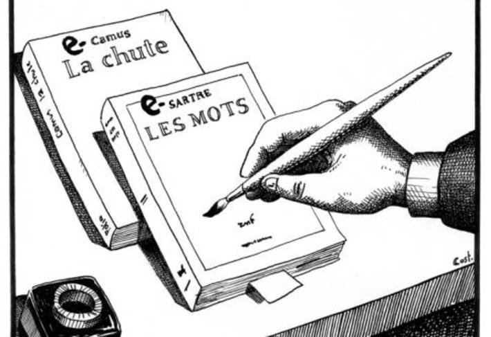 Un forfait illimité pour les livres | Courrier international | À la une | Scoop.it