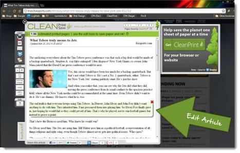 Personalizando el contenido que deseamos guardar, imprimir o compartir | TIC JSL | Scoop.it