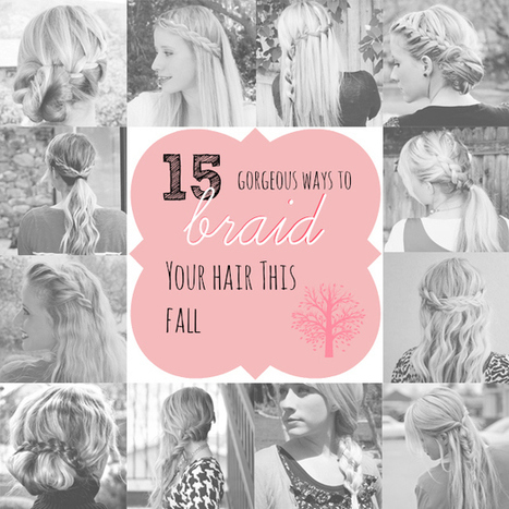 15 Gorgeous Ways to Braid Hair This Fall - Babble   hairstyles   Scoop.it