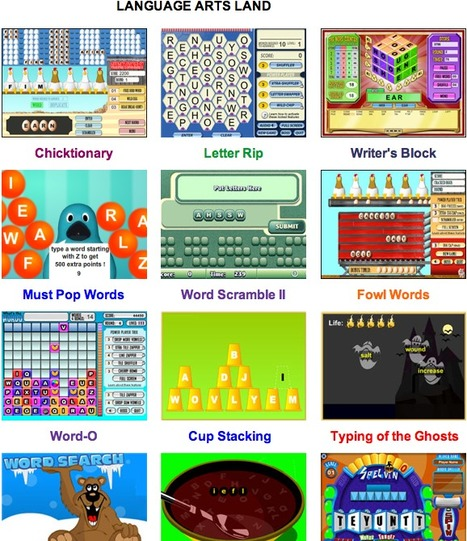 Online Math Games, Logic Games, Science Games, Language Arts Games, and more! | Web 2.00 tools and ideas for your EFL class | Scoop.it