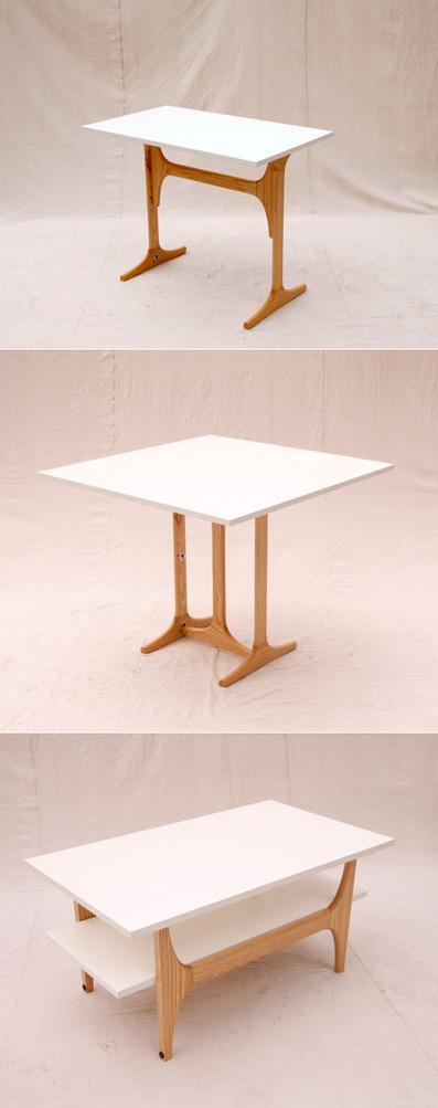 David Koch's No-Tool 3style Table   #Design   Scoop.it