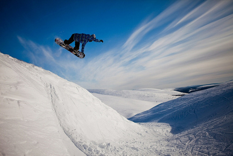 Snowboarding in Pyhä, Finland | Flickr : partage de photos ! | All About Longboarding | Scoop.it