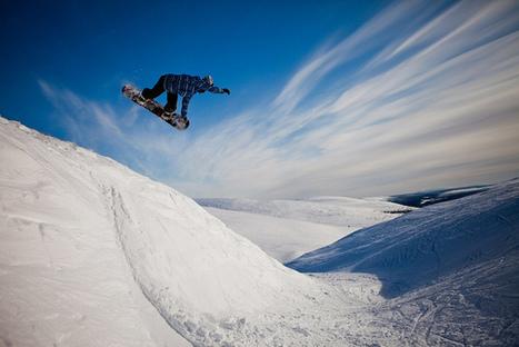 Snowboarding in Pyhä, Finland | Flickr: partage de photos! | Finland | Scoop.it