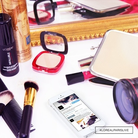 For Golden Globes, L'Oreal turns the red carpet into real-time marketing with shoppable GIFs | Web and technology news | Scoop.it