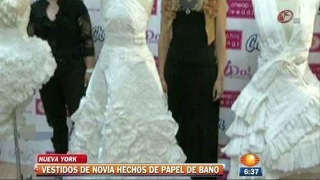 Vestidos de novias hechos con papel - Noticieros Televisa | Tu Foto de Bodas | Scoop.it