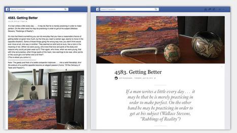 Facebook updates a long-ignored feature | Digital | Scoop.it