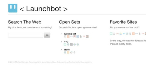 Launchbot Is a Customizable Start Page for All Your Browsers | Best Web Apps | Scoop.it