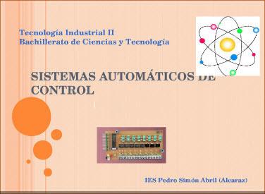 Tecnología Industrial II. Sistemas Automáticos de Control. | Tecnologia, Robotica y algo mas | Scoop.it