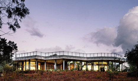 Earthy Exterior for Perth's New Environmental Centre | DesignBuild News | Scoop.it