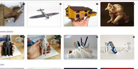 45 sites web sur lesquels vous pouvez télécharger des modèles imprimables en 3d | La veille de l'atelier | Scoop.it