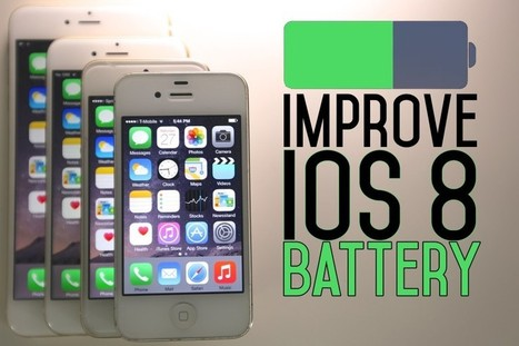 These 7 Tips Can Offer a Long Lasting Battery Life to iOS 8 | iOS  App Development | Scoop.it