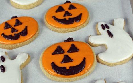 Halloween Sugar Cookies With Royal Icing [Vegan] | Vegan Food | Scoop.it