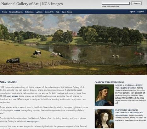 Accede a 25.000 imágenes de arte que se puede volver a utilizar de forma gratuita | Visto en la Web | Scoop.it