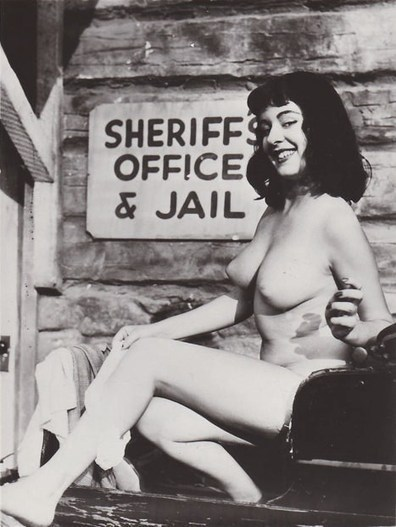 Vintage Nude Posting Outside Jail | Busty Boobs Babes | Scoop.it