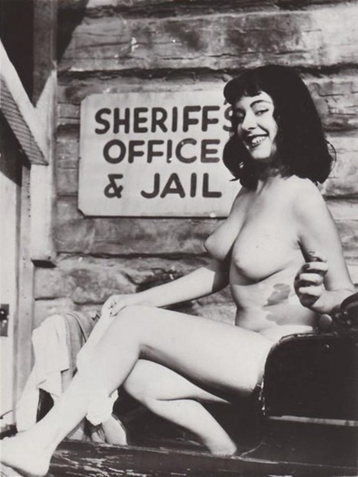 Vintage Nude Posting Outside Jail | Sex History | Scoop.it
