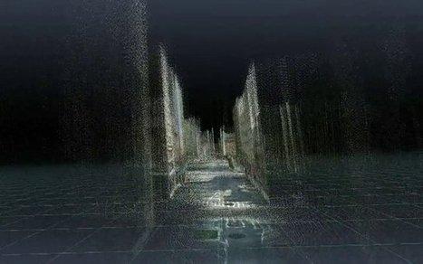 Depth Maps Hidden in Google Street View Create Flickering Ghost-Cities | Interesting Sciences | Scoop.it