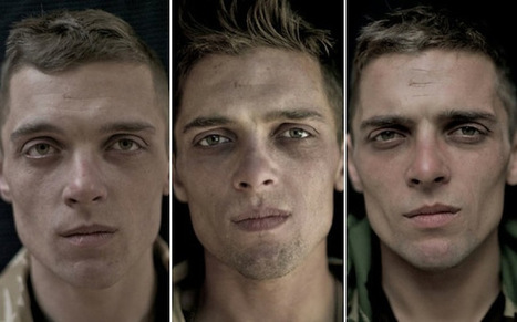 Portraits of Soldiers Before, During, and After War   Food,Health and GMO   Scoop.it