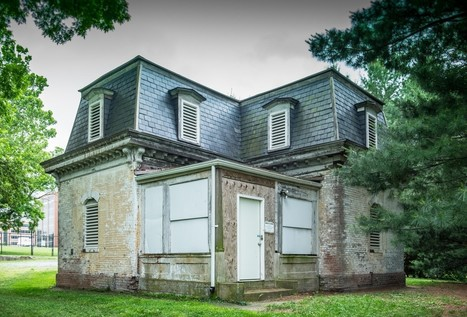 What's the story on the 'haunted' abandoned house behind Sibley Hospital? | Abandoned Houses, Cemeteries, Wrecks and Ghost Towns | Scoop.it