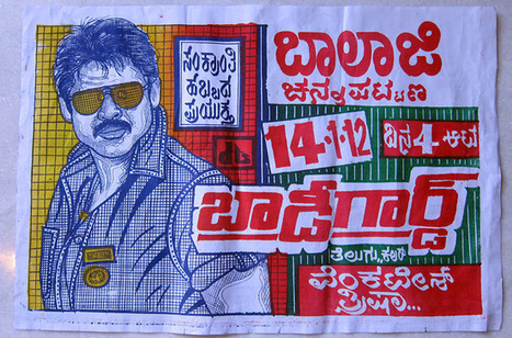 India's Incredibly Cool Hand-Drawn Movie Posters | Visual*~*Revolution | Scoop.it