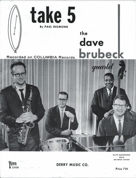 Take 5 sheet music | Jazz Plus | Scoop.it