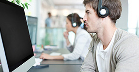 How to Listen to Music at Work Without Sacrificing Productivity   Music to work to   Scoop.it