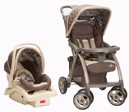 Safety 1st Saunter Luxe LC-22 Travel System Stroller, Cubes | Baby Stroller Reviews | Scoop.it