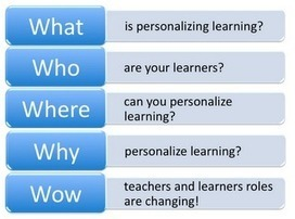 Personalize Learning: The 5 W's of Personalized Learning | Innovative Learning Environments | Scoop.it