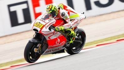 Iannone still suffering with injured shoulder | Ductalk Ducati News | Scoop.it
