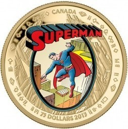 Royal Canadian Mint issues Superman 75th-anniversary coins   - Robot 6 @ Comic Book Resources | coins | Scoop.it