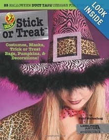 Stick or Treat: 25 Halloween Duct Tape Designs for Kids & Adults | Halloween Crafts, Decorations, Costumes And Treats | Scoop.it