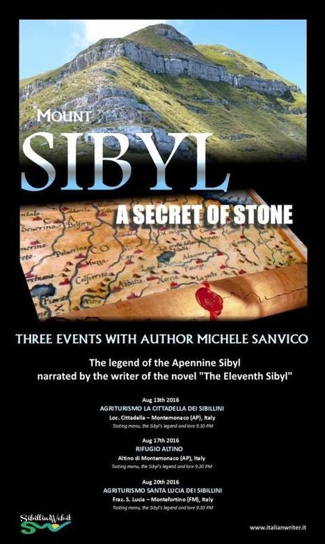 Mount Sibyl, a Secret of Stone - Italian Writer Michele Sanvico Tells a Legendary Tale | Le Marche another Italy | Scoop.it