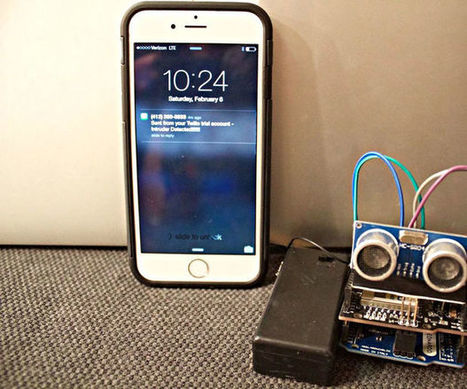 Intruder Alarm with Text Message Notification | Raspberry Pi | Scoop.it