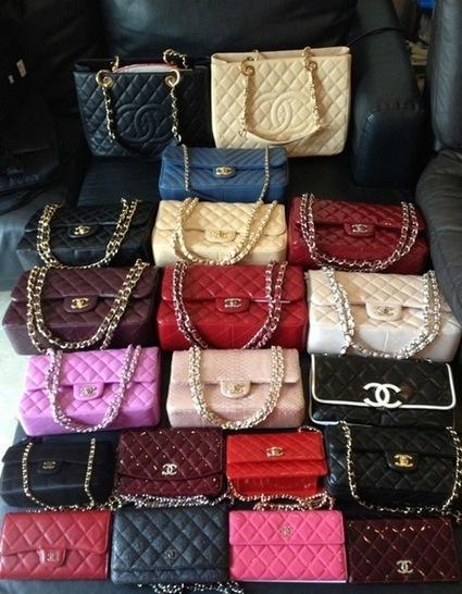 Designer Handbag Inspiration - Chanel, Hermes, Celine, LV ...   Top Handbags   Scoop.it