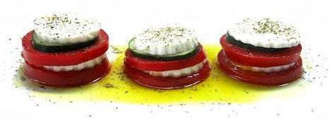 Na minha cozinha faz-se assim...: Salada de queijo fresco e tomate | Foodies | Scoop.it