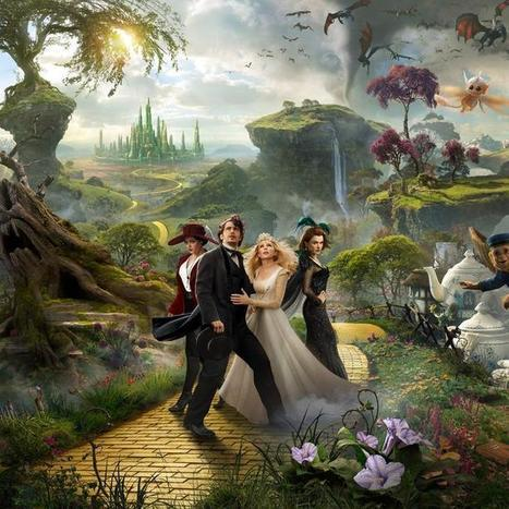 Google Experiment Creates Web Magic for 'Oz the Great and Powerful'   Web advertising   Scoop.it