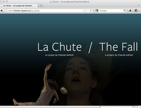 Ce que les arts numériques font à l'histoire de l'art #3 [BIAN 2012 : La chute, Chantal duPont] | Arts Numériques - anthologie de textes | Scoop.it