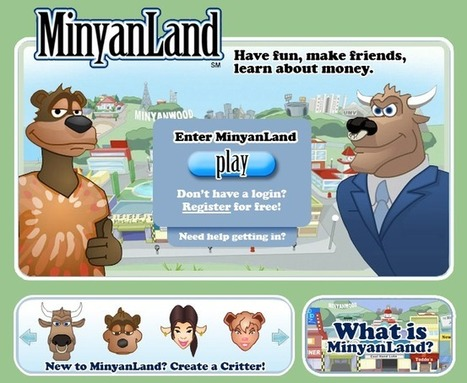 MinyanLand - Fun Way for Kids To Learn Economics with Hoofy & Boo | UDL & ICT in education | Scoop.it