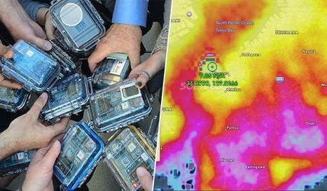 Des citoyens japonais créent une carte de la radioactivité en pied de nez au gouvernement | Coopération, libre et innovation sociale ouverte | Scoop.it