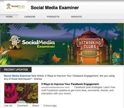 5 Tips for Optimizing Your LinkedIn Company Page   Social Media Examiner   Public Relations & Social Media Insight   Scoop.it