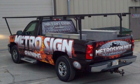 JMR Graphics Discusses the Importance of Updating Your Vehicle Wrap After a Company Re-brand | Business Signage by Metro Sign & Awning | Scoop.it
