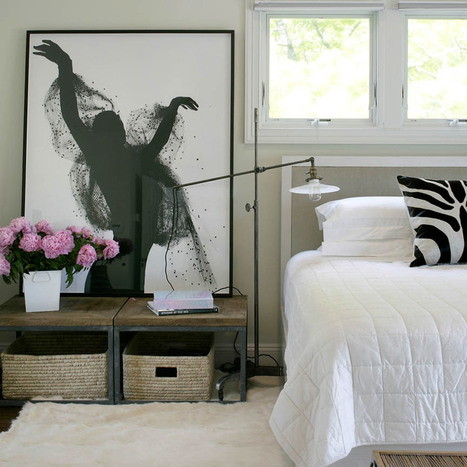 12 Chic Bedroom Decorating Ideas That (ALSO!) Make For A Better Night's Sleep | Nova Scotia Home Builders | Scoop.it