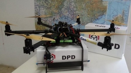 Delivery drones test successful in France | Amazing Science | Scoop.it