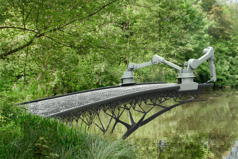 Gravity-defying 3D printer to print bridge over water in Amsterdam - CNET | Future Trends and Advances In Education and Technology | Scoop.it