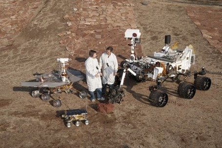 3 Generations of NASA's Mars Rovers | Vulbus Incognita Magazine | Scoop.it