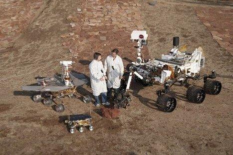 3 Generations of NASA's Mars Rovers | VIM | Scoop.it