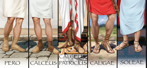 PEPLUM: Roman sandals   Mundo Clásico   Scoop.it